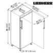 GKv 6460 | LIEBHERR Rozsdamentes hűtőszekrény