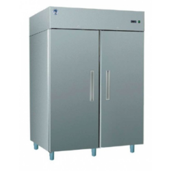 GASTRO C1400 INOX - Kétajtós, rozsdamentes hűtőszekrény