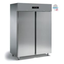 HD150T - Kétajtós hűtőszekrény (Rozsdamentes megjelenésű, ujjlenyomat mentes bevonattal)