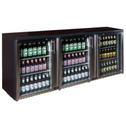 TC-BB-3GDRI INOX Három üvegajtós bárhűtő(1702x520x840)