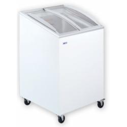 UDD 100 SCEB Mélyhűtőláda ferde, csúszó domború üvegtetővel