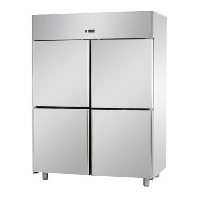 A414EKOPP - Rozsdamentes 4 ajtós hűtőszekrény GN 2/1