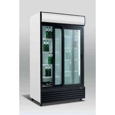 SD 1001 SL - Csúszó üvegajtós hűtővitrin